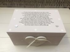 Shabby Personalised Chic Daughter On Her Wedding Day EXTRA LARGE Gift Memory Box - 232212448419